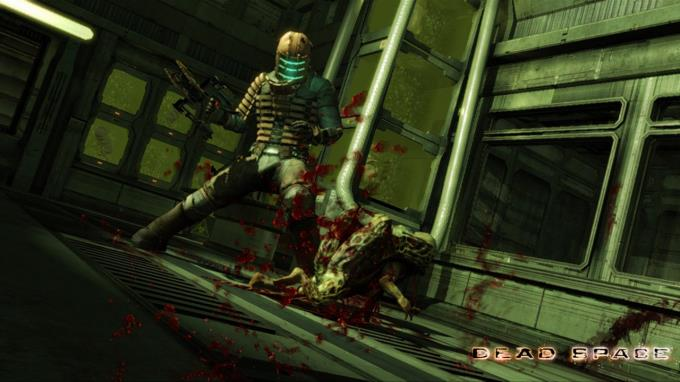 Some Screen Shots Of dead space video game