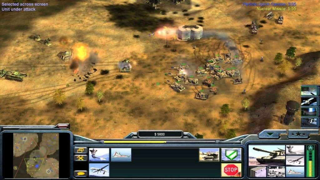 Command and Conquer generals zero hour Free Game Download
