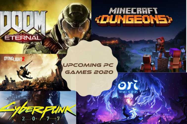 Upcoming PC games 2020