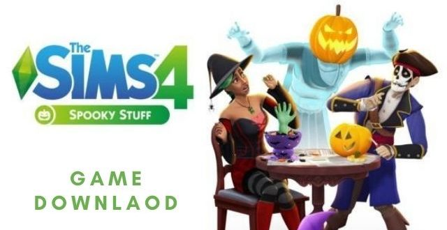 The sims 4 spooky stuff game download