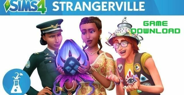 The Sims 4 StrangerVille Game Download